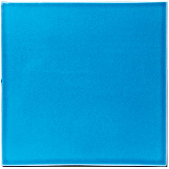Carrelage bleu ciel salle de bains cuisine fa ence de provence salernes carrelages boutal for Faience bleue salle de bain