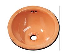 Carrelage - Décoration - Lave Mains rond diamètre 33- Cuisine - Salle de Bains - Faïence de Provence à Salernes