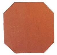 Carrelages - Sols - Octogone 20 x 20 avec cabochon terre cuite ou cabochon émaillé - Terrasse - Dalles - Terre Cuite de Provence à Salernes -